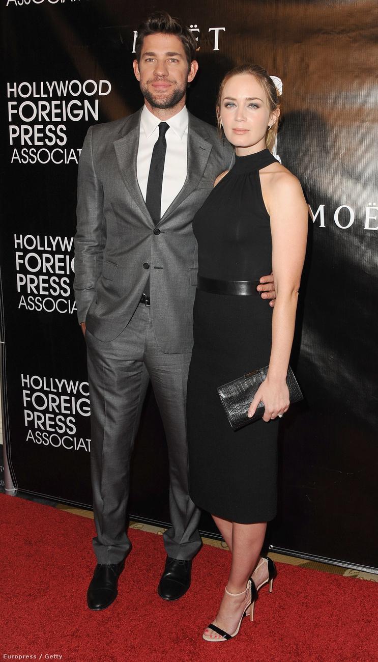 John Krasinski és Emily Blunt