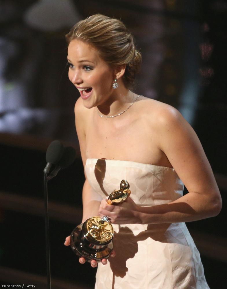 2013-ban viszont gondolkodás nélkül neki ítélték a legjobb női főszerepért járó Oscar-díjat