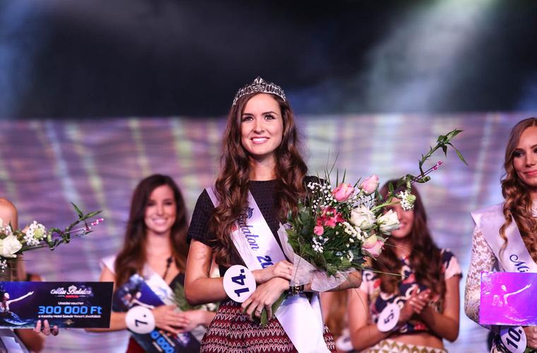 Viczián Csilla fejére került a korona az idei Miss Balaton szépségversenyen