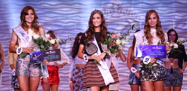 A nyertes Viczián Csilla első udvarhölgye Ricza Nicoletta, míg a második Török Alexa lett.