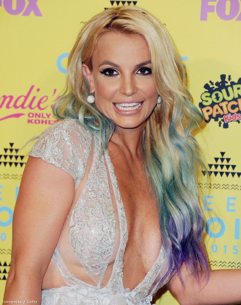 Britney Spears akkor volt 17 éves, vagyis most már 33