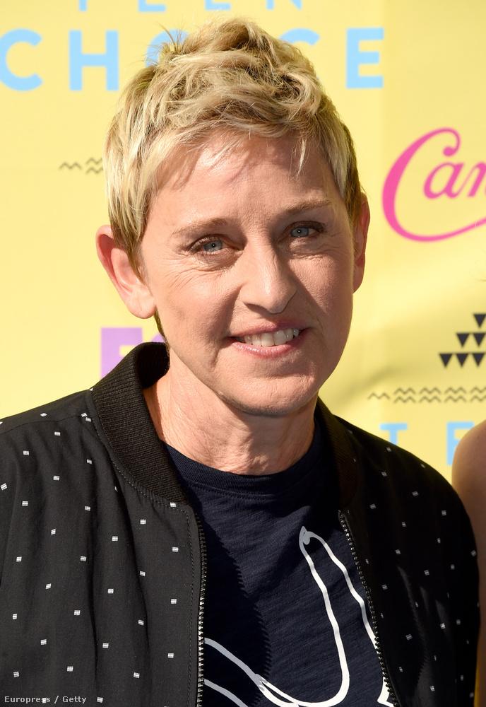 Például olyanoknak, mint Ellen DeGeneres