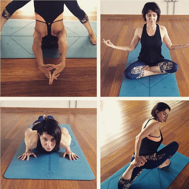 Az élete a pilates és a jóga