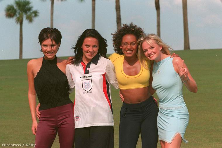 A Spice Girls szintén:((