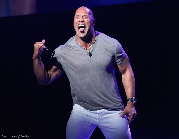 Dwayne Johnson is örült a héten mindennek