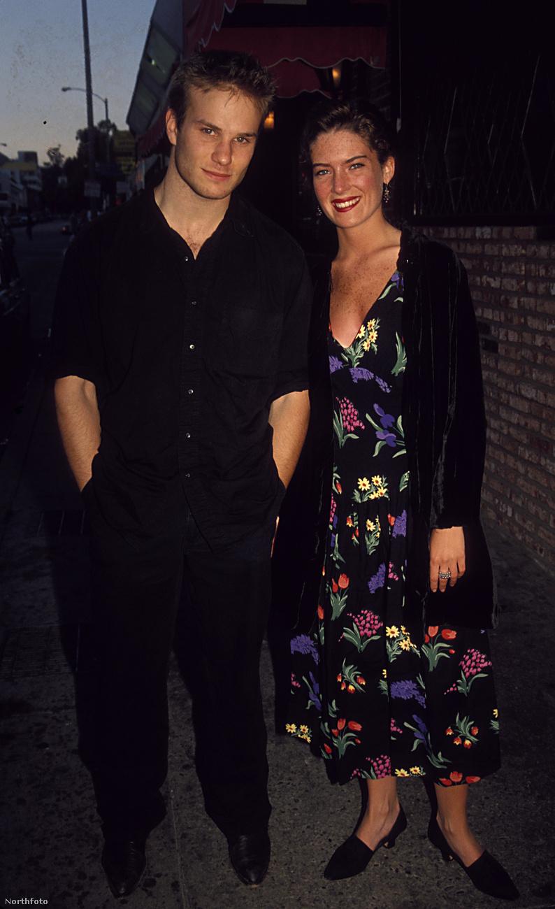 Lara Flynn Boyle és James Marshall 1992-ben