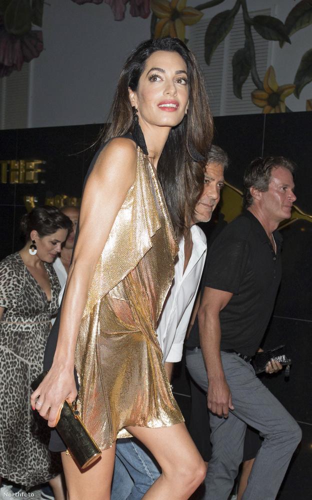 Amal Clooney külön