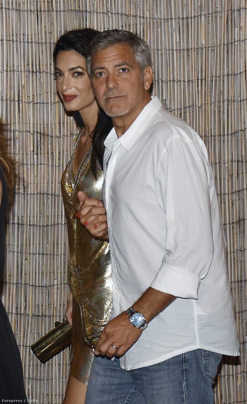 De térjünk vissza Clooney-ékra!