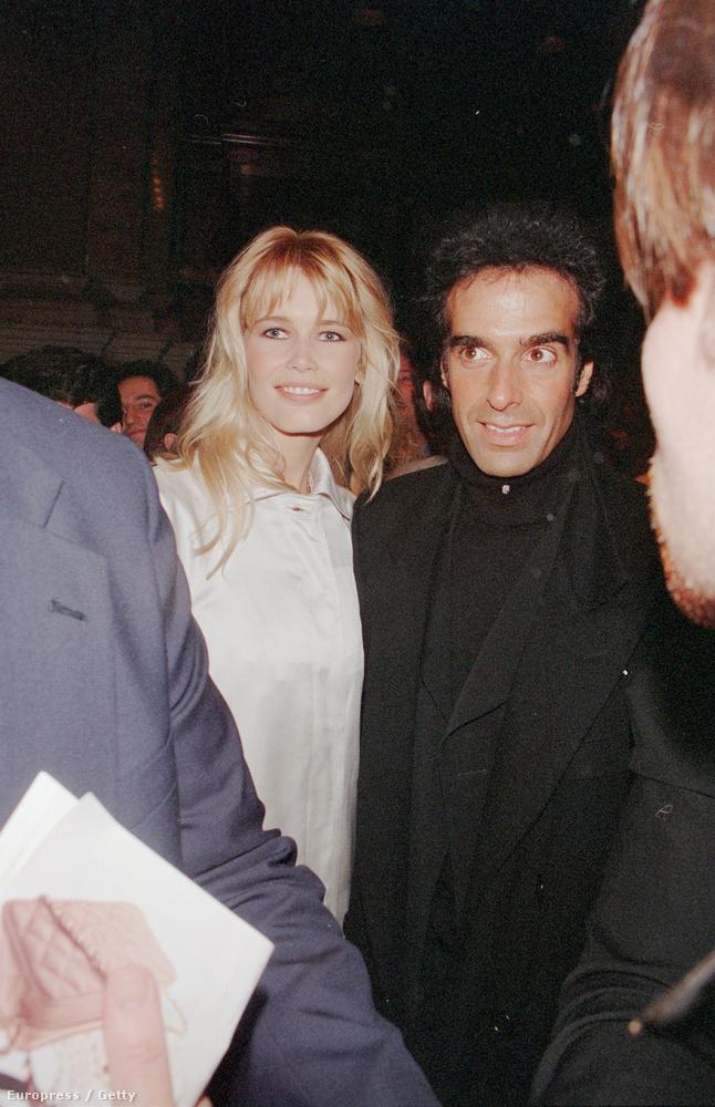 David Copperfieldet 1993-ban ismerte meg, és egészen 1999-ig voltak együtt