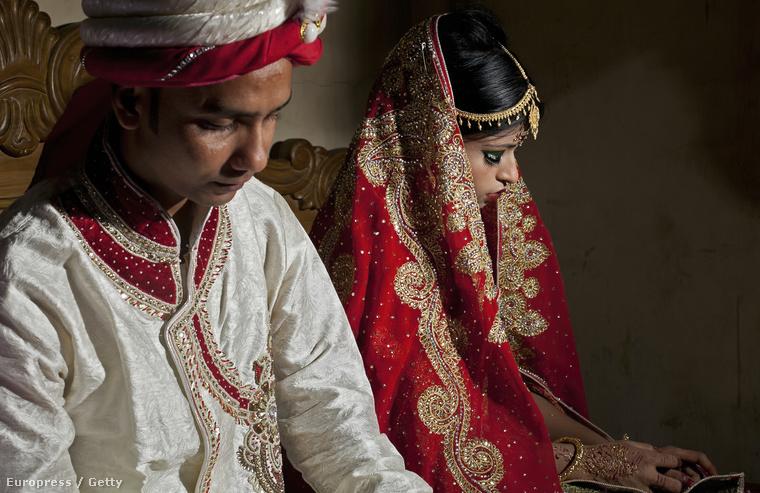 Egy másik esküvői portré