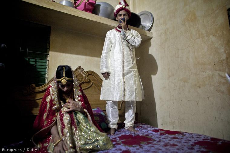 Az egyik szuper esküvői fotó