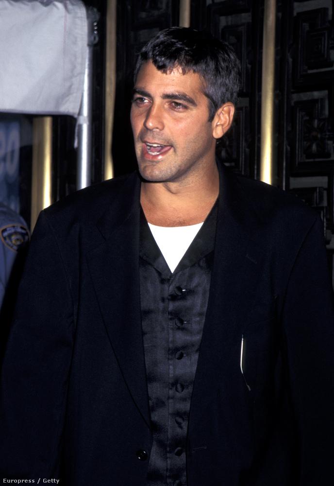 Mint ahogy George Clooney-ról is, bár ő akkor még csak a Vészhelyzet Ross doktora volt