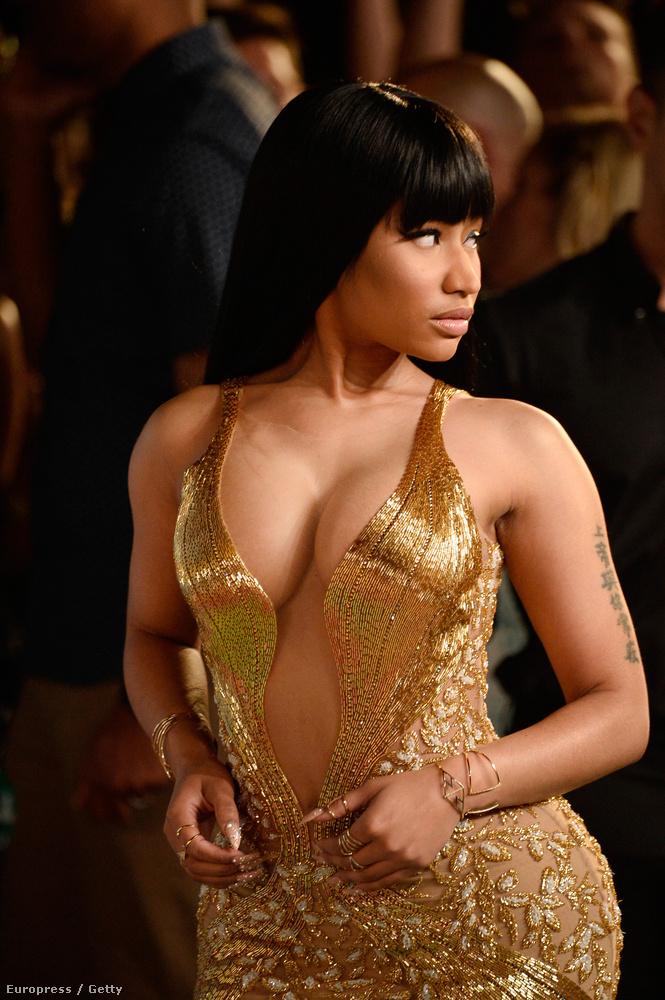 Nicki Minaj amúgy keményen pakolta magát