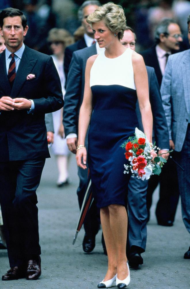 Diana és férje Magyarországon járt, méghozzá 1990