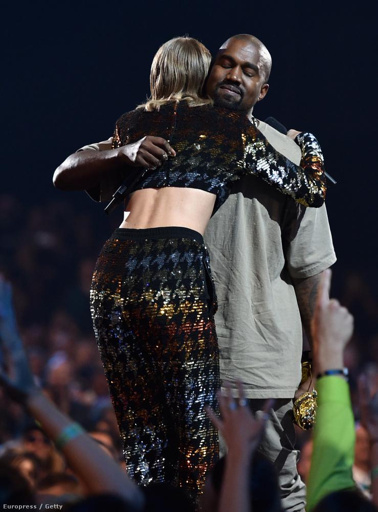 A rapper egyébként Taylor Swifttől vehette át a Michael Jackson Video Vanguard díjat, ami egyfajta életműdíj.