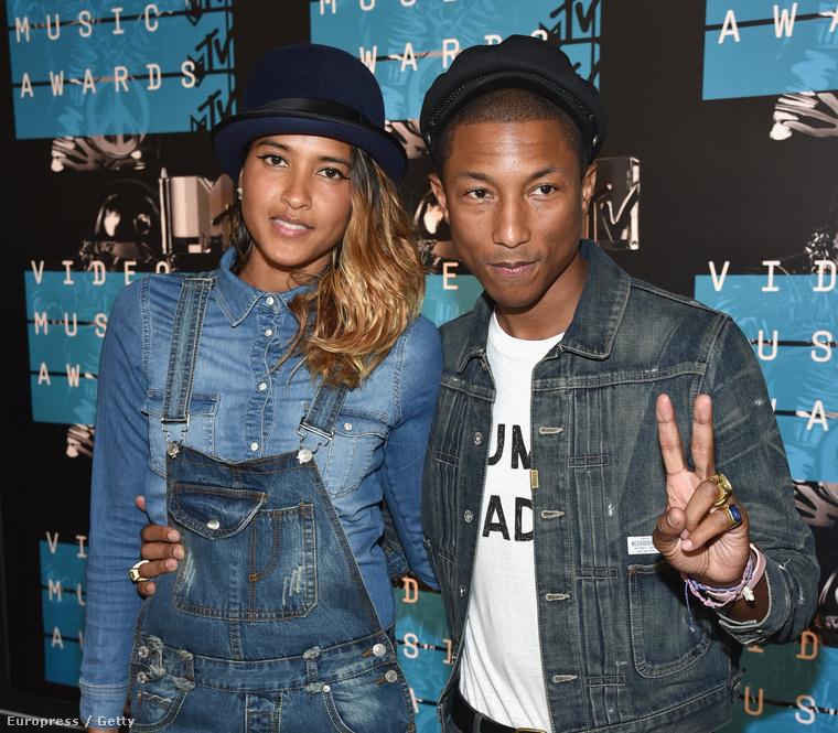 Pharrell Williams és a felesége is a meghívottak közt voltak, és még mindig halálosan cukik