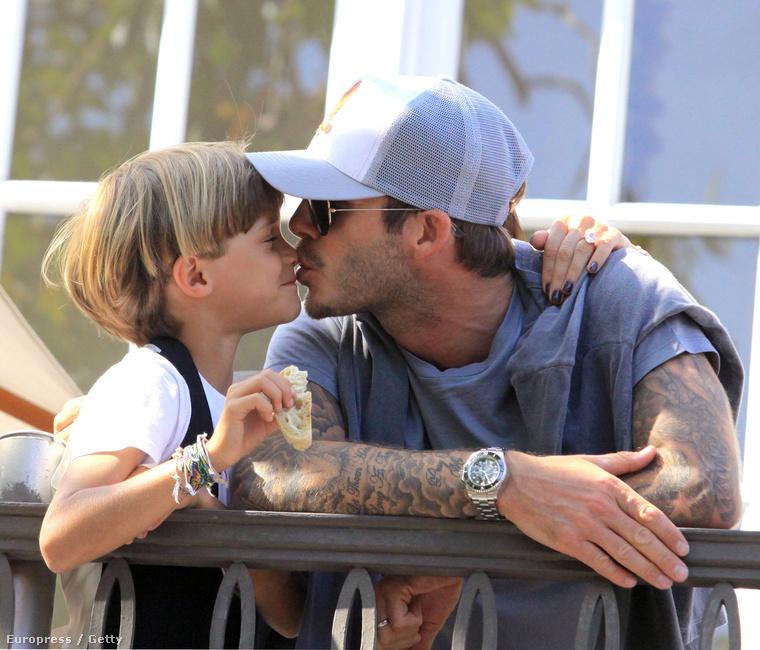 És mert az exfocista David Beckham az apja