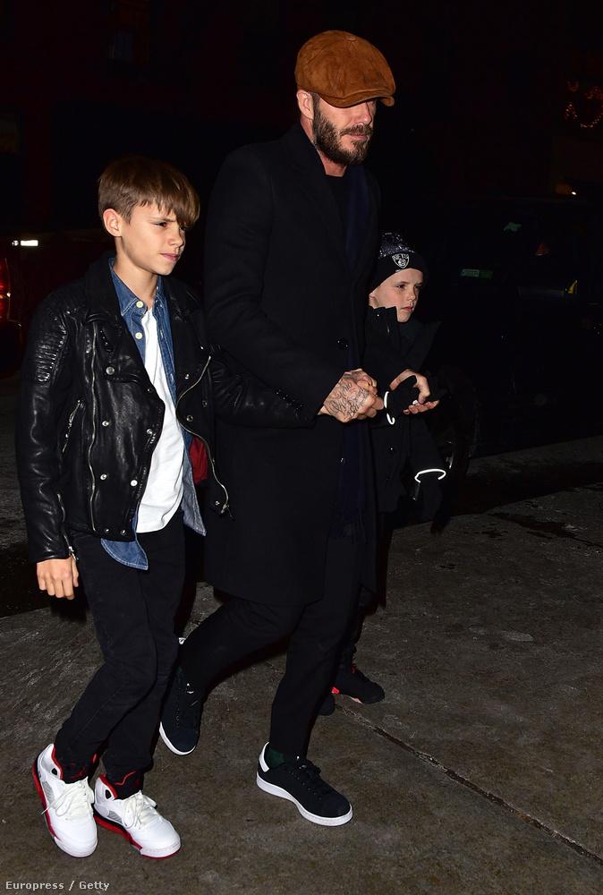 Szóval ünnepeljen Beckhamékkel együtt, hogy a középső fiuk betöltötte a tizenhármat!