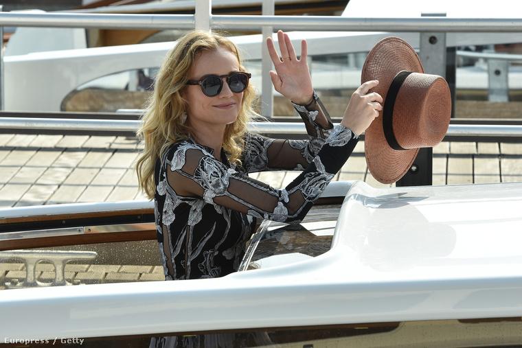 Így Diane Kruger is, aki idén a zsűri tagja