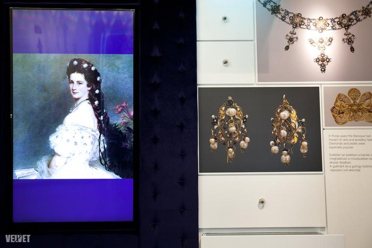 És megnézheti a gyémánt múzeumot Sissivel