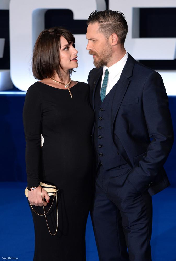 Igen, Tom Hardy feleségéről, Charlotte Riley-ról van szó
