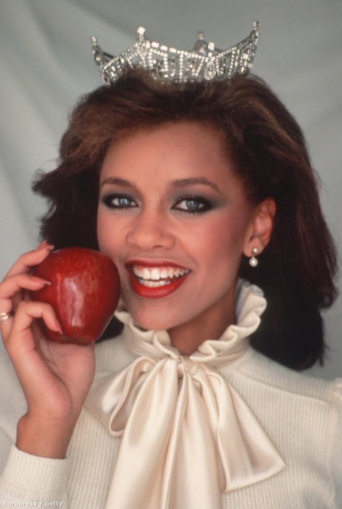 Az első fekete Miss America Vanessa Lynn Williams volt, őt 1983-ban választották meg.