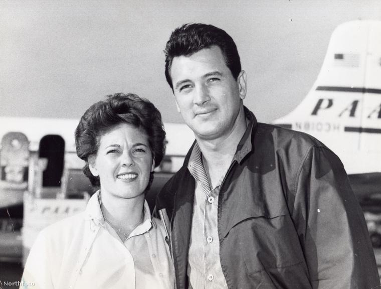 Phyllis Gates úgy lett titkárnőből celeb, hogy 1955-ben hozzáment az akkor ügyeletes fő hollywoodi szívtipróhoz, Rock Hudsonhoz