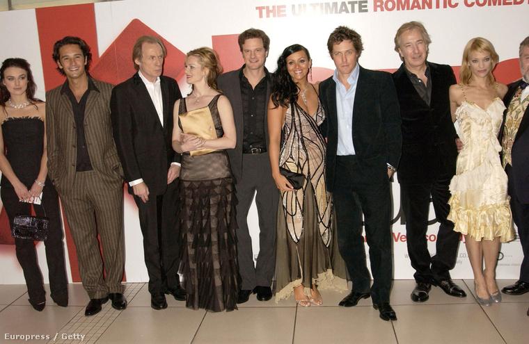 A Bridget Jones naplója után egy másik azóta is félelmetesen népszerű brit romkomban, az Igazából szerelemben kapott szerepet
