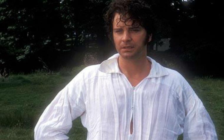 ...majd mikor megkapta Mr Darcy szerepét a BBC Büszkeség és balítéletében, a fél világ örök szerelembe esett vele