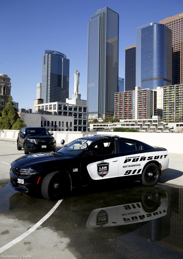 Az Egyesült Államokban szintén akad néhány pofás rendőrautó