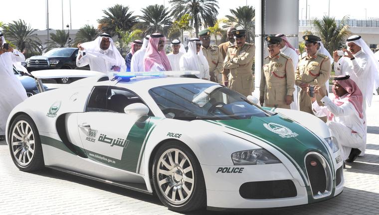 A világ legboldogabb rendőrei valószínűleg Dubajban élnek