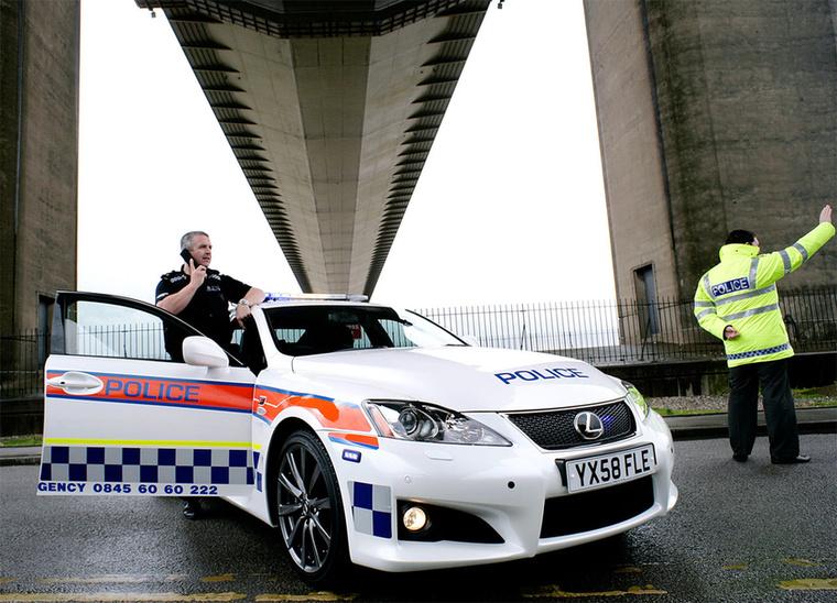 Humberside tartomány rendőrségének szintén jó dolga van
