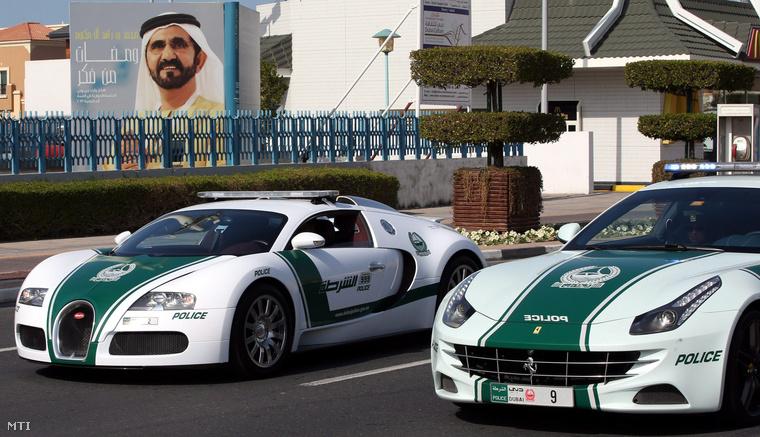 Egy átlagos nap az dubaji utcákon