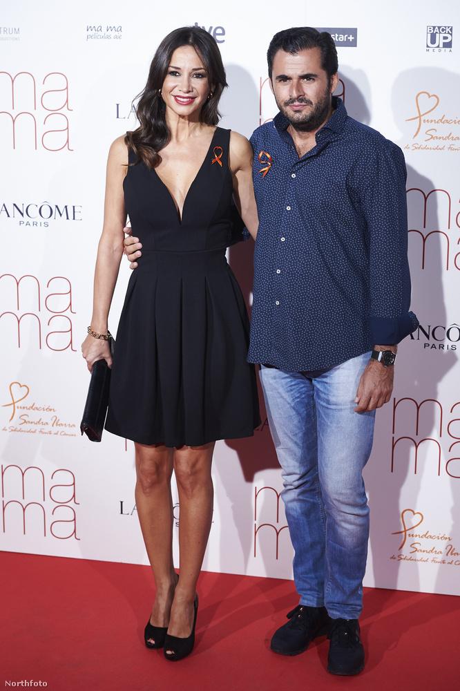 A kép bal oldalán Cecilia Gomez flamencotáncos látható, a jobbon pedig Emiliano Suarez, spanyol színész.