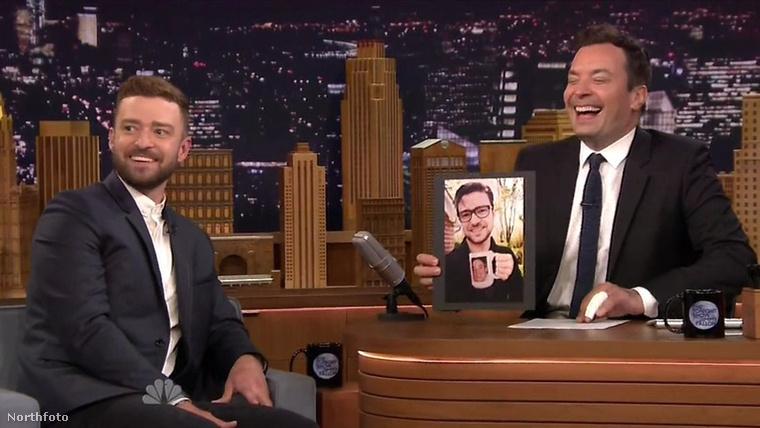 Justin Timerlake elment Jimmy Fallon beszélgetős műsorába, ami annyira nem lenne érdekes, mert sok színész és zenész szokta ugyanezt tenni - viszont mutatott néhány képet a kisfiáról