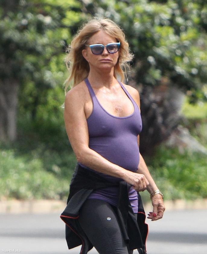 Goldie Hawn pedig úgy döntött, minek melltartó.