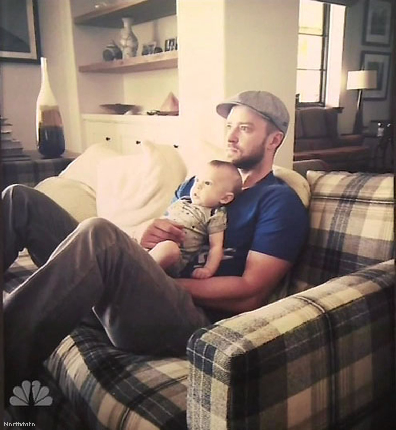 Justin Timberlake mutatott néhány fotót a fiáról, ez önöknek is nagyon tetszett.