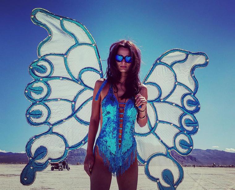 A Burning Man műveszti és zenei fesztivált a nevedai sivatagban tartják, idén augusztus 30