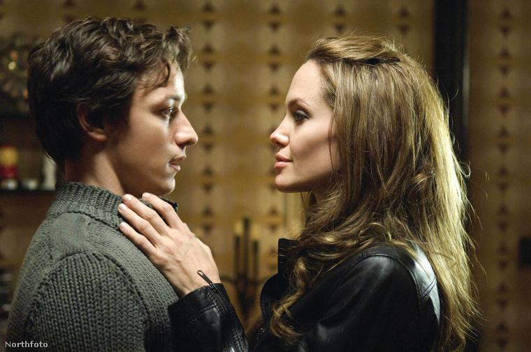 Angelina Jolie csókját James McAvoy minősítette rossznak, igaz, kellemetlen részleteket nem közölt, amikor 2008-ban egy interjúban erről beszélt