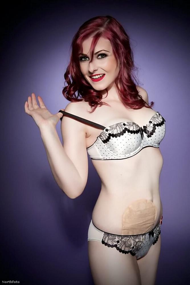 Amanda szeptembert kapta, és nagyon ráérzett a szexi fotózásra.