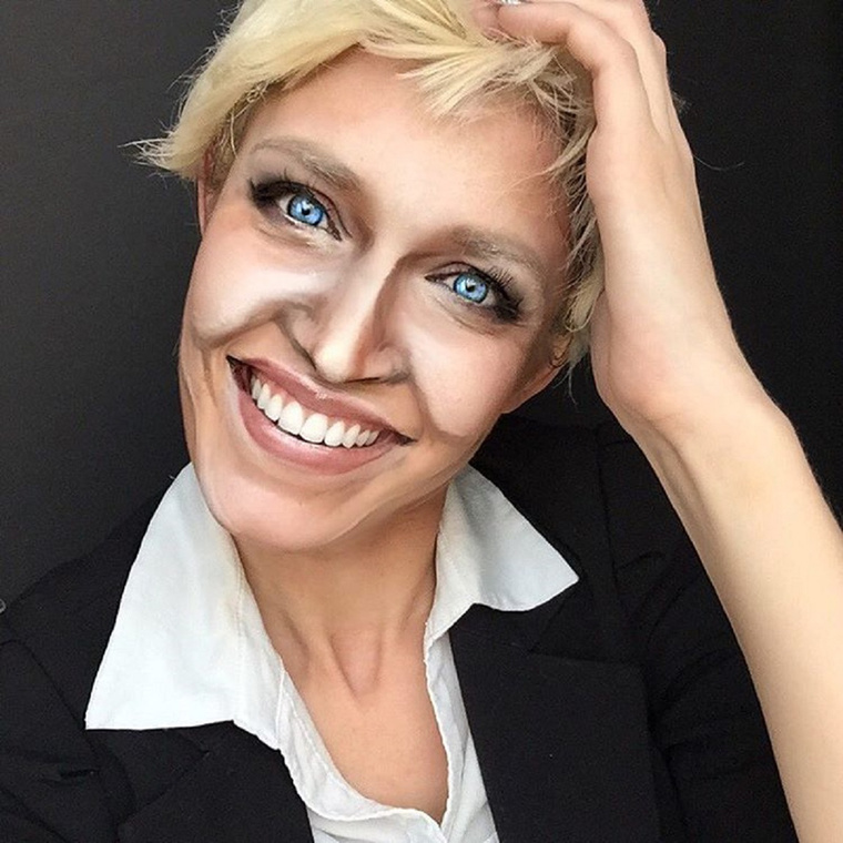 Ellen DeGeneresAzért DeGeneres örülhet, hogy nem pontosan ilyen az arca