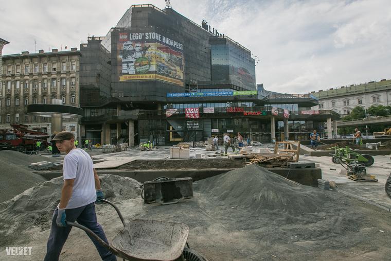 A Nyugati tér kinézete gyakorlatilag 1982 óta változatlan.