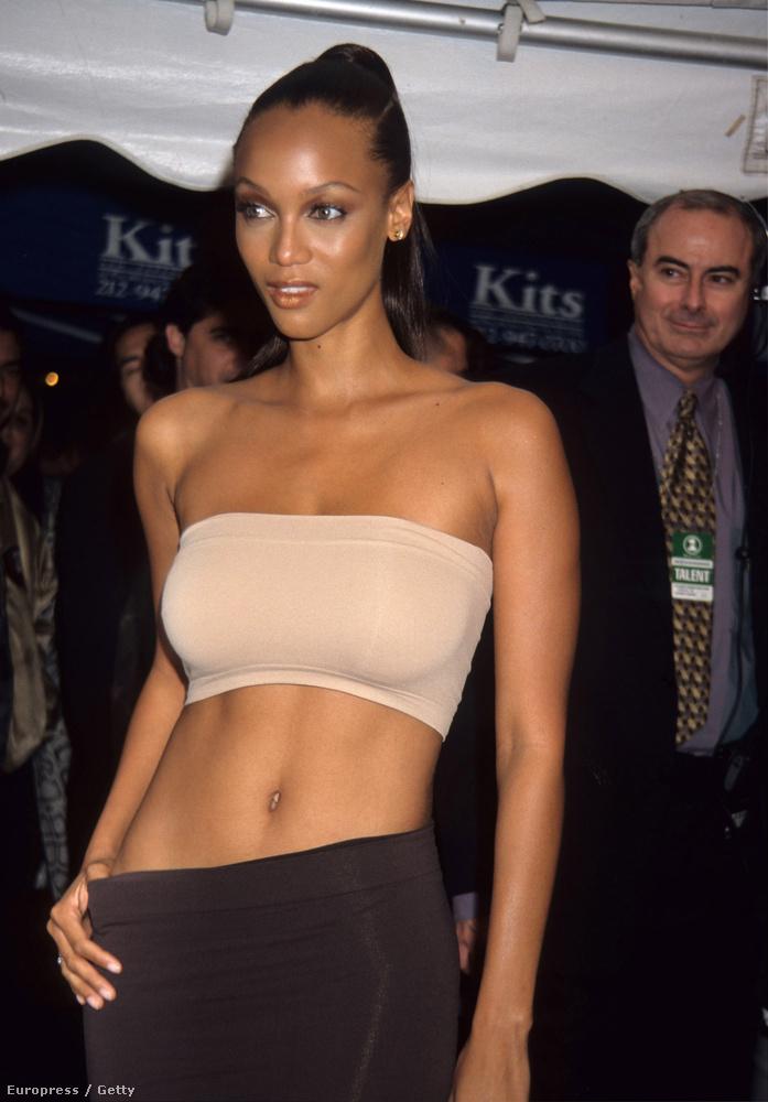 Tyra BanksA másik nő a sorozatbeli Will Smith életében Tyra Banks volt, akinek akkoriban eléggé pörgött a modellkarrierje, a Kaliforniába jöttem volt az első filmes szerepe
