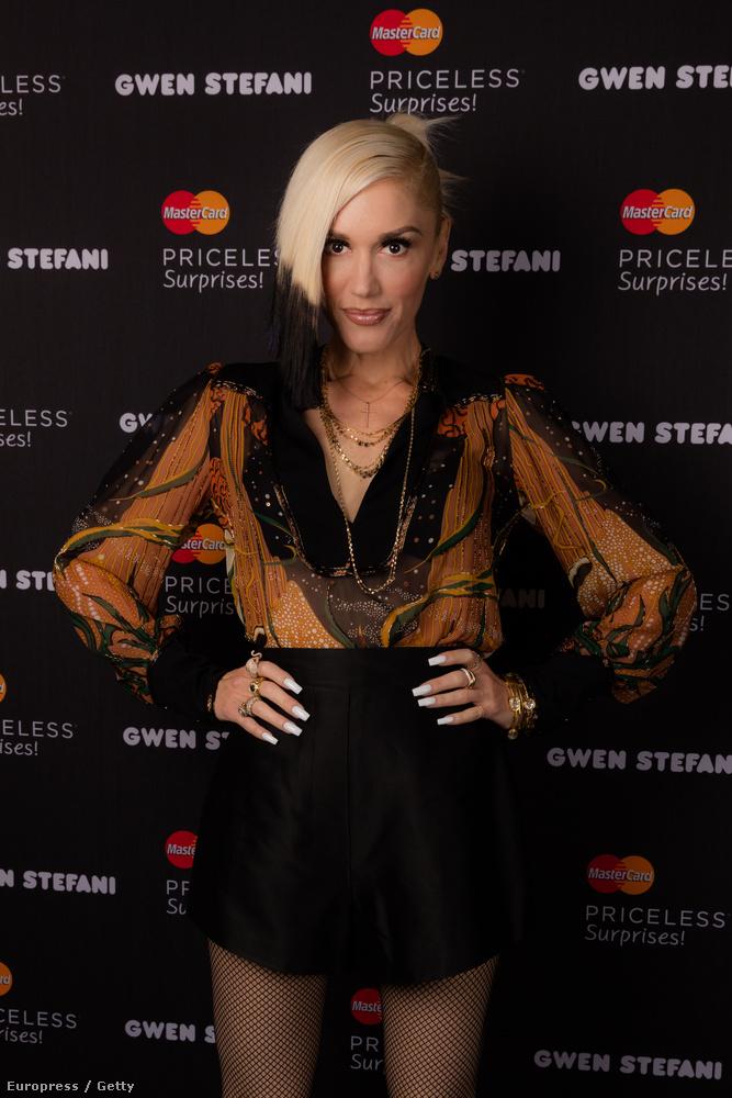 Gwen Stefaniról kaptunk pár képet