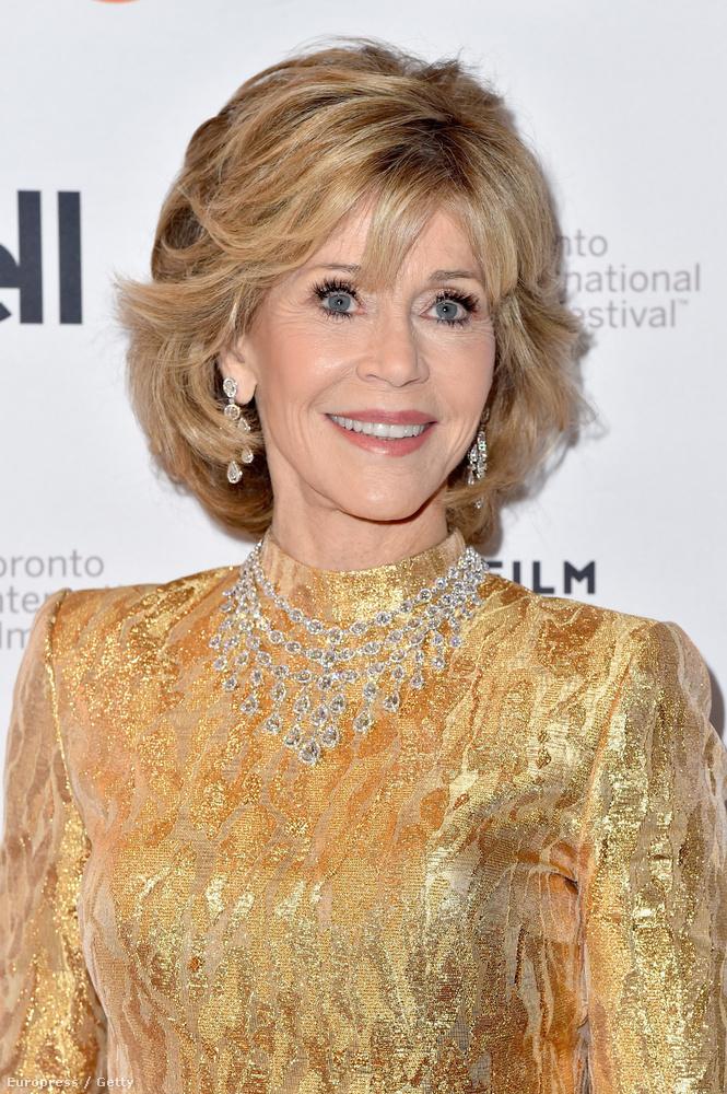 Hát Jane FondaAki decemberben lesz 78 éves