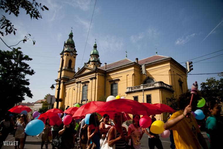 A Piros Esernyős Felvonulás a szexmunkások sajátja világszerte