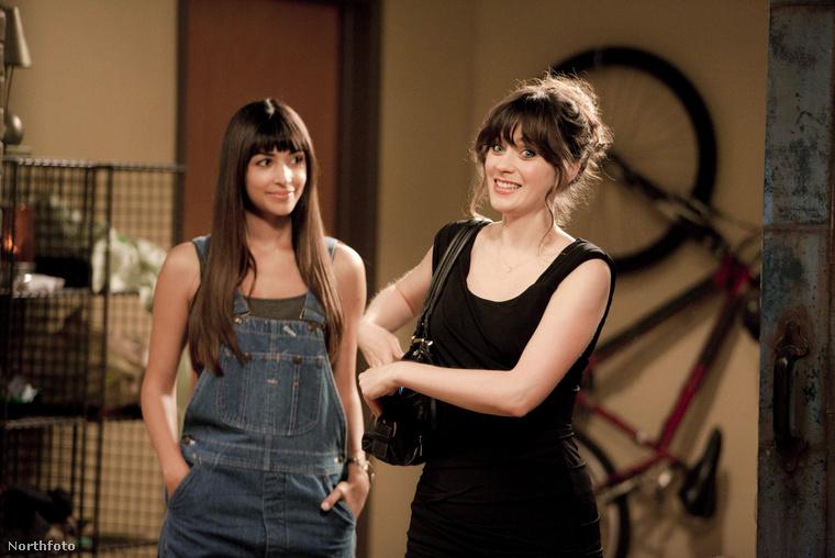 A New Girl - Új lány főszereplőjeként Zooey Dechanel óráira is nehezen lehet figyelni.