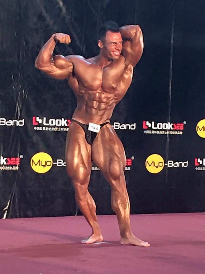 Molnár Péter nemrég megnyerte a WBPF nevű szervezet első profi versenyét Hongkogban