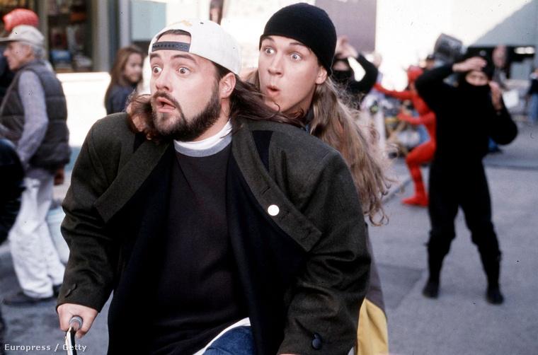 Ez a kép a 2001-es Jay és Néma Bob visszavág című filmből van, 1994-es felvételt ide kattintva talál.