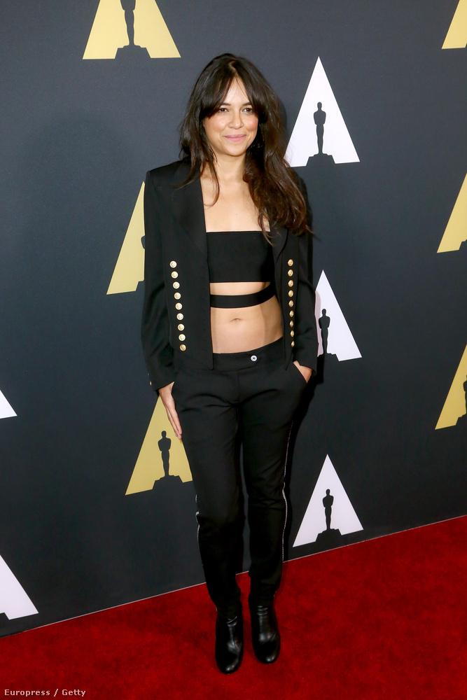 Rodriguez a napokban még a New York-i divathéten volt, most meg a diák Oscarra ment el